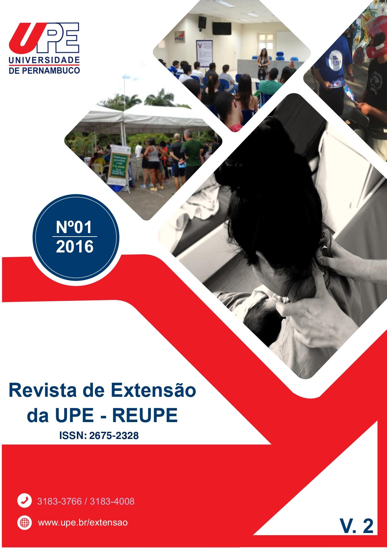 Visualizar v. 2 n. 1 (2016): Volume 2 da Revista de Extensão da UPE - REUPE