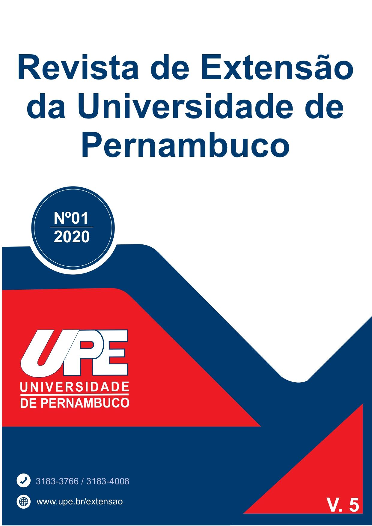 Visualizar v. 5 n. 1 (2020): Volume 5 da Revista de Extensão da UPE - REUPE